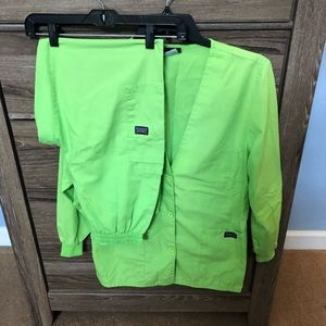 Cherokee LS jacket with matching pants Size Small